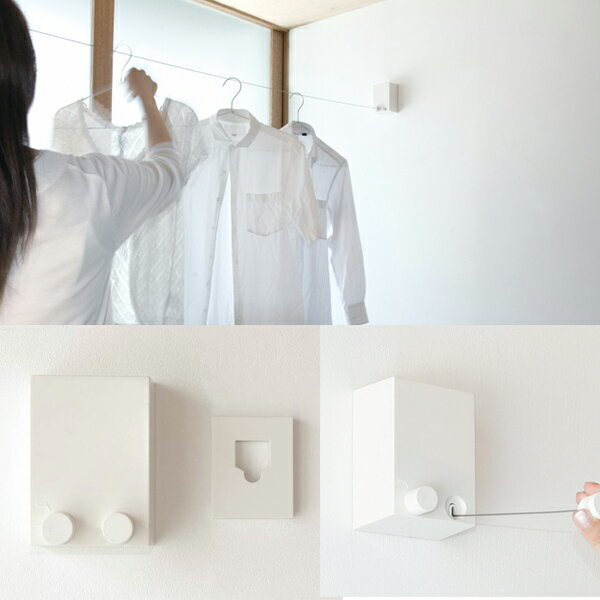 あす楽 「送料無料」森田アルミ工業:室内物干しワイヤー pid 4M ピッド ヒルナンデスで紹介されました!