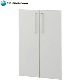 アール・エフ・ヤマカワ:プリーマ 木製シェルフロー 用扉 ホワイト Z-SHWLD-WH