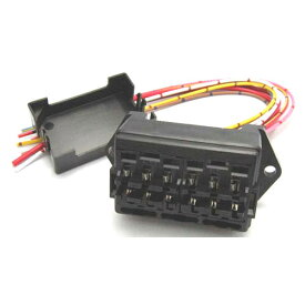 フジックス:平型ヒューズホルダー 1個 FZH-004 保護 電設 部品