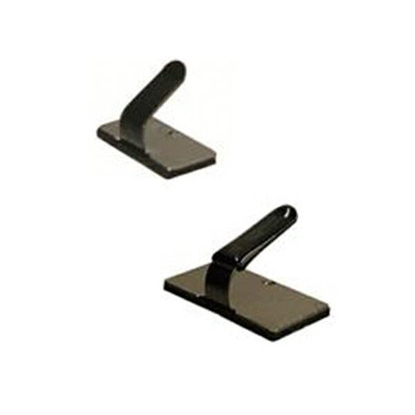 【後払い不可】フジックス:配線止め金具 黒 100個 PT528