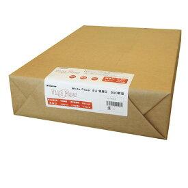 長門屋:ホワイトペーパー B4 特厚口 110kg ナ-523 1冊(500枚) 1264968