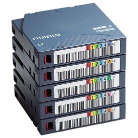 富士フイルム:LTO Ultrium3 データカートリッジ バーコードラベル(横型)付 400GB LTO FB UL-3 OREDPX5Y 1パック(5巻) 2296074