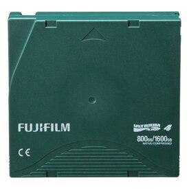 富士フイルム:LTO Ultrium4 データカートリッジ バーコードラベル(縦型)付 800GB LTO FB UL-4 OREDPX5T 1パック(5巻) 2296081