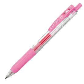 ゼブラ:ゲルインクボールペン サラサクリップ 0.5mm ライトピンク JJ15-LP 1本 5178773