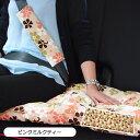 ★送料無料★【ココトリコ】かわいい花柄のロングシートクッション[45cm×120cm 後部座席 カーシート カー用品 カワイイ おしゃれ 日本製]