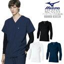 アンダーウェア 9分袖 メンズ MIZUNO ミズノ MZ-0155 メディカルウェア チトセ 医療用白衣
