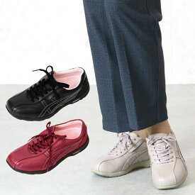 asicsライフウォーカー ニーサポート500 膝に優しいO脚サポートシューズ 女性用 (シニアファッション 60代 70代 80代 高齢者 靴 老人 ミセス 女性 レディース 婦人 おばあちゃん 祖母)