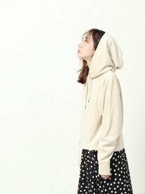 [Rakuten Fashion]カットベロアパーカー(フーディー) coen コーエン カットソー Tシャツ ホワイト【先行予約】*【送料無料】