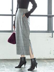 [Rakuten Fashion]【ムック本掲載】起毛コットンストレッチロングタイトスカート coen コーエン スカート ロングスカート ブラック ブラウン【送料無料】