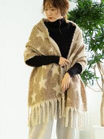 [Rakuten Fashion]【WEB限定】スタージャカードストール coen コーエン ファッショングッズ ストール ブラウン グレー