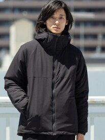[Rakuten Fashion]撥水フーデッドマウンテン中綿ジャケット coen コーエン コート/ジャケット ブルゾン ブラック ベージュ【送料無料】
