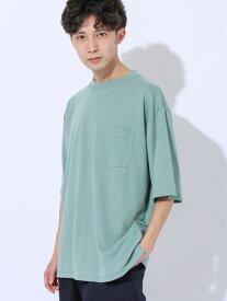 [Rakuten Fashion]ポンチビックシルエットポケットTシャツ coen コーエン カットソー Tシャツ ホワイト ブラック ブラウン