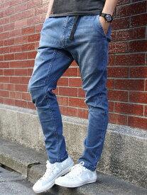 [Rakuten Fashion]ストレッチスキニーデニムクライミングパンツ(一部WEB限定カラー) coen コーエン パンツ/ジーンズ スキニージーンズ ネイビー ブラック ブルー レッド【送料無料】