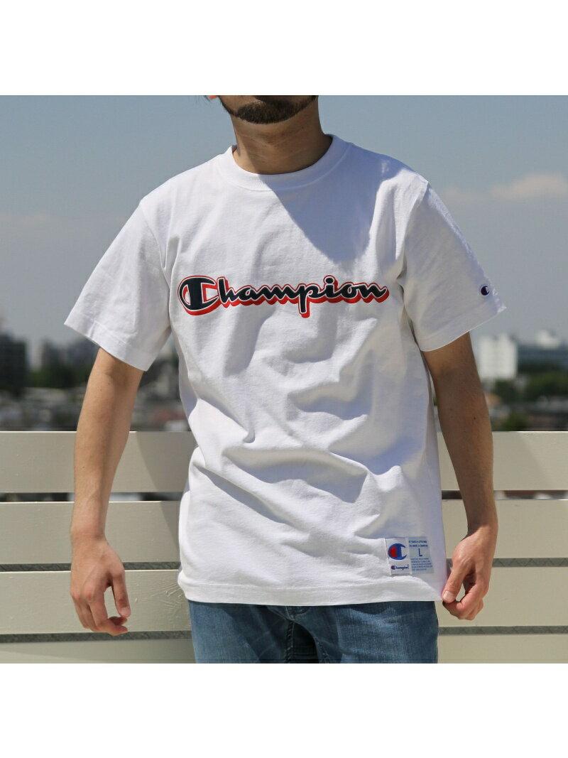 [Rakuten BRAND AVENUE]【SALE/40%OFF】Champion(チャンピオン)アクションスタイルロゴプリントTシャツ(C3-N303) コーエン カットソー【RBA_S】【RBA_E】