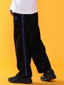 [Rakuten Fashion]【セットアップ対応】ライントラックワイドパンツ(UTILITYLINE) coen コーエン パンツ/ジーンズ フルレングス ブラック