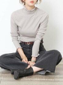 [Rakuten Fashion]コットンメロウタートルネックカットソー coen コーエン カットソー Tシャツ グレー ホワイト ブラック ブルー