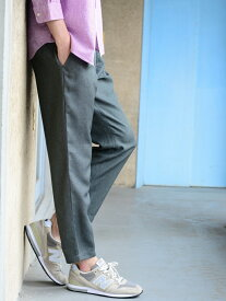 [Rakuten Fashion]【SALE/20%OFF】ポリトロイージーアンクルパンツ coen コーエン パンツ/ジーンズ クロップド/半端丈パンツ グレー ネイビー【RBA_E】
