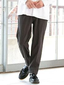 【SALE/16%OFF】極楽ストレッチテーパードパンツ coen コーエン パンツ/ジーンズ フルレングス グレー ブラック カーキ ネイビー【RBA_E】[Rakuten Fashion]