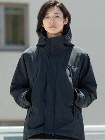 [Rakuten Fashion]2レイヤーアルパインパーカー coen コーエン コート/ジャケット コート/ジャケットその他 ブラック ネイビー【送料無料】