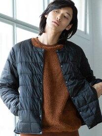 [Rakuten Fashion]TAION(タイオン)インナーダウンジャケット coen コーエン コート/ジャケット ダウンジャケット ブラック ベージュ【送料無料】