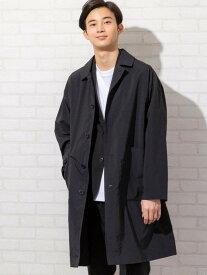 [Rakuten Fashion]【SALE/20%OFF】ワイドシルエットステンカラーコート coen コーエン コート/ジャケット ステンカラーコート ブラック イエロー【RBA_E】【送料無料】