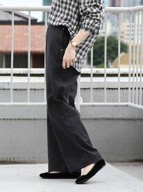 [Rakuten Fashion]【SALE/40%OFF】カツラギワイドパンツ coen コーエン パンツ/ジーンズ フルレングス グレー ホワイト【RBA_E】