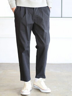 coen wash tapered tuck Chino Cohen