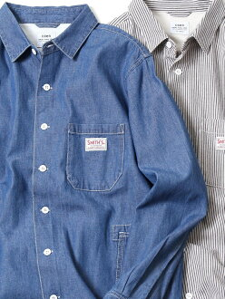 coen SMITH (Smith) comment long sleeves work shirt 18SS Cohen