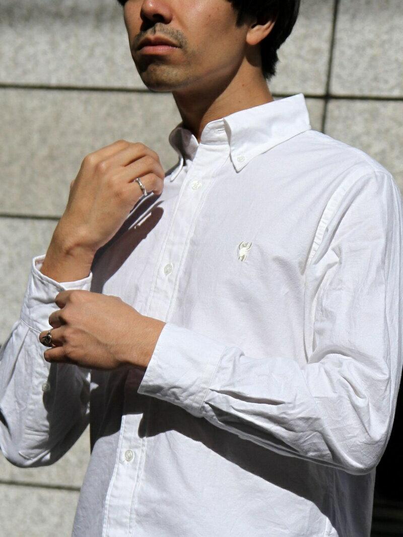 [Rakuten BRAND AVENUE]オックスフォードボタンダウンシャツ2018 coen コーエン シャツ/ブラウス【送料無料】