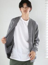 [Rakuten Fashion]【SALE/60%OFF】ダブルフェイスカットブルゾン coen コーエン コート/ジャケット コート/ジャケットその他 グレー カーキ【RBA_E】