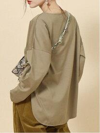 [Rakuten Fashion]【WEB限定】ボートネックプルオーバー(ラウンドヘムカットソー) coen コーエン カットソー Tシャツ ベージュ ホワイト ブラック【先行予約】*