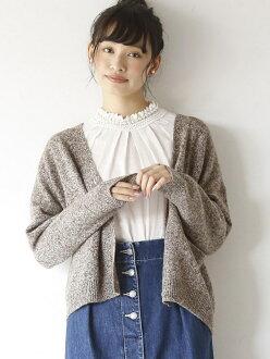[Rakuten BRAND AVENUE] lamb's wool cardigan coen Cohen knit *