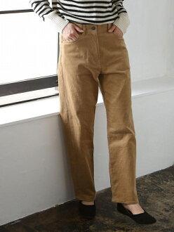 [Rakuten BRAND AVENUE] corduroy stretch High Rise 5 pocket underwear coen Cohen underwear / jeans *
