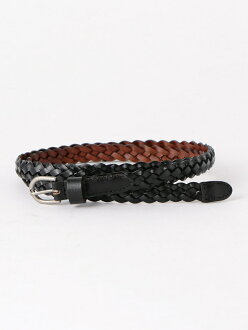 [Rakuten BRAND AVENUE] recycling leather mesh belt 15mm coen Cohen fashion goods