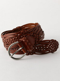 coen recycling leather mesh belt 45mm Cohen