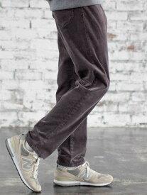 [Rakuten Fashion]ストレッチコーデュロイ5ポケットパンツ coen コーエン パンツ/ジーンズ フルレングス グレー ベージュ ブラウン ネイビー