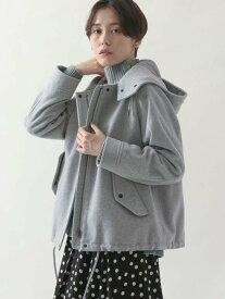 [Rakuten Fashion]イタリアンリサイクルウールショートモッズコート(ライトグレー) coen コーエン コート/ジャケット モッズコート グレー【送料無料】