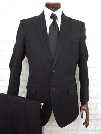 美品【ポールスミス Paul Smith】 2ボタンストライプ柄 スーツ (メンズ) ブラック sizeL   ◇MS2259◇ 【中古】