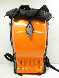 未使用 【ボブルビー BOBLBEE】 メガロポリス ハードシェル バックパック リュックサック デイパック (メンズ) オレンジ ◎2MG1215◎【中古】
