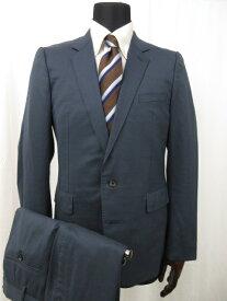 【アメリカンラグシー AMERICAN RAG CIE】 シングル2ボタン スーツ (メンズ) size3 青みのあるネイビー系 秋冬用  ■6MS6814■【中古】