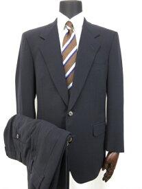 超美品 【ミラショーン Mila Schon】 シングル2ボタン スーツ (メンズ) size92-A5 暗めのネイビー系 ■8MS6921■ 【中古】