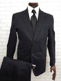【マークジェイコブス MARC JACOBS】 コットン素材 シングル 2ボタン スーツ (メンズ) ネイビー カジュアルスーツ    ◯MS1892◯ 【中古】