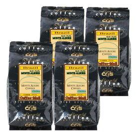 【スペシャルティコーヒー】ブラジル・モンテアレグレ(100gx4袋)/ シーシーエスコーヒー