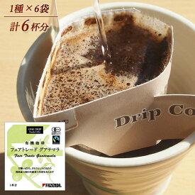 【ドリップバッグ】有機栽培珈琲 フェアトレードグアテマラ  6個入り(10g×6袋)/コーヒーメール