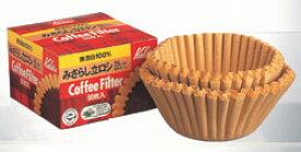 カリタ みさらしタイプ 立ロシ25cm 50枚入コーヒーマシン用濾紙 ペーパーフィルター