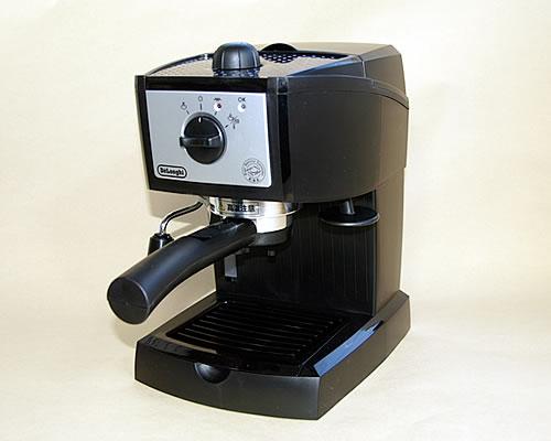 楽天ポイント10倍 デロンギ(DeLonghi) エスプレッソ・カプチーノメーカー EC152Jコーヒー豆200g付き 本州送料無料【RCP】
