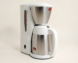 ポイント10倍 メリタ コーヒーメーカーNOAR (ノア) SKT54-3-W (ホワイト) アロマサーモ 後継機 コーヒー豆100g付き 本州送料無料 【あす楽対応】【コンビニ受取対応商品】