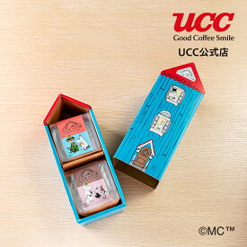 【UCC公式コーヒー】カフェアットホーム (CAFE@HOME) ムーミン谷 コーヒー工房 ギフトセット 50g×4袋 レギュラーコーヒー(粉)