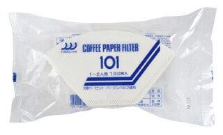 【101】ペーパーフイルター(1〜2杯用)100枚(送料別)