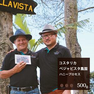 コスタリカ ベジャビスタ農園 ハニープロセス【500g】  珈琲 コーヒー 美味しい コーヒー豆 焙煎 珈琲豆 豆 スペシャルティコーヒー コスタリカ